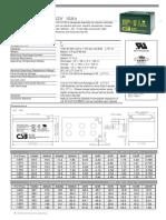 DX D100 Baterias 12v15ah