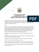 Gov. David Ige's 2020 State of the State Address