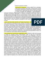 Escalas de avaliação para Terapia Ocupacional no Brasil