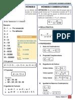 Formulario - Análisis Combinatorio