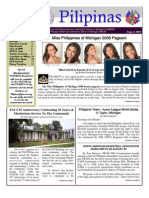 Filamcco Summer 2008 newsletter