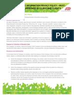 ADP Sample Client Biometrics Policy