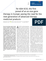 Gene therapy example