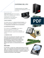 Hardware Interno Del Cpu
