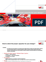 How to select the proper capacitor for your design (1)