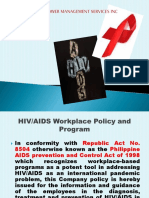 HIV AND AIDS, Dangerous Drugs and Sexual Harassment