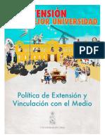 Politica de extension