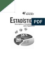 Estadística Descriptiva y Probabilidades Para Ingenieros