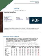 JPM Healthcare Outlook