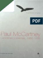 Mccartney, P - Blackbird Singing - Canciones Y Poemas 1965-1999