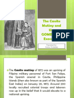 The Cavite Mutiny and the GOMBURZA Execution