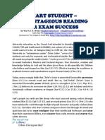 Smart Student – Advantageous Reading for Exam Success