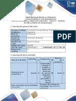 Guía de actividades y rúbrica de evaluación - Tarea 2 - Análisis de LGR y diseño de compensador.docx