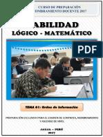 Preparacion Docente 03-Orden de informacion