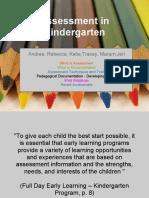 Kindergarten-Assessment