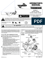 Operator's Manual - Tecumseh Small Engine - MTD Products 181-1032-14