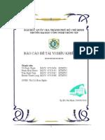 Báo cáo đề tài VĐK AVR