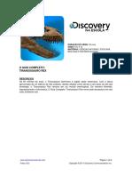DISCOVERY CHANNEL - TIRANOSSAURO REX