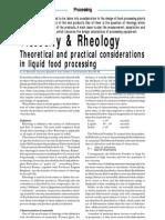 Viscosity & Rheology