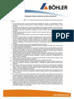 Condiciones Generales Para La Venta de Aceros Especiales Rev 11