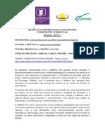 tarefa Desafio do Professor em pdf