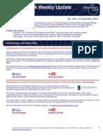 EdUSA Weekly Update No 206 -- 22 November 2010