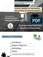 Effects of coconut sawdust - ICONSEP 2019