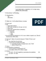 Notes in Pediatrics