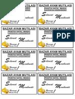 label bazar