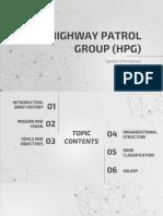 Hpg Report