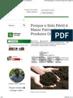 Solo Fértil - Cuide dele Se Quiser Produzir Alimentos Orgânicos.pdf