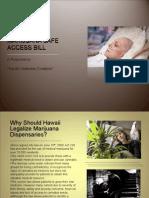 Hawaii Medical Marijuana Safe Access Bill