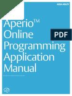 AA_Aperio_Online Programming Application PAP Tool Manual_English