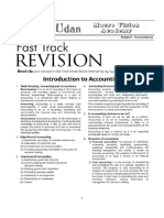 Class XI Fast Track Revision for Accountancy (29.01.2019)