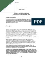 Osnivanje Zelene akcije i djelovanje do sredine 1991..
