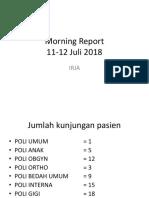 MR poli 13 juli 2018