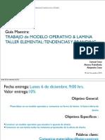 Quinta Entrega Guia Maestra Entrega Modelo y Lamina