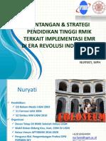 Tantangan dan Strategi PT RMIK terkait implementasi RME di Era Revolusi Ind