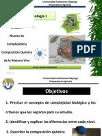Niveles de organización en la biología