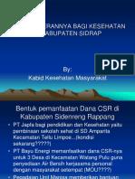 Materi CSR Kabid Kesmas tampil acc.ppt