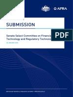 Senate Select Committee on Financial Technology and Regulatory Technology