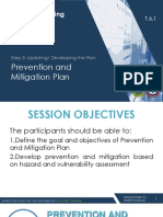 6.1 DRRM-H Step 3 Update_Devt of the Plan - Prevention and Mitigation Plan