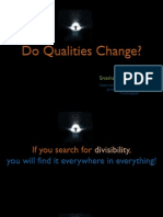 Do qualities change?