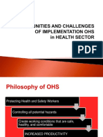 Challenge and Opportunity OHS in health Sector.ppt