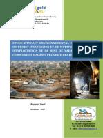 Roxgold-Yaramoko-2017-EnvironmentalandSocialImpactAssessmentESIA(Etuded'impactenvironnementaletsocial_EIES)(French)