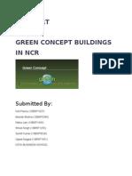 Report- Green Concept