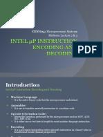 Intel 8086 Instruction Format