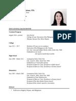 Ann Julienne Aristoza, CV.pdf