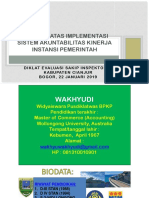 evaluasi sakip Januari 2019 Itda Cianjur.pptx