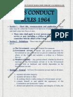 CCS CONDUCT - 1964